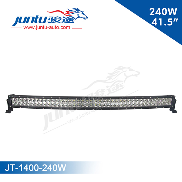 Juntu 13.5 Inches 72W Curved LED Light Bar For Truck