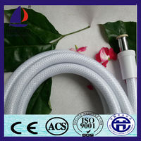 Cixi QIANYAO White color reinforced flexible pvc shower hose pipe