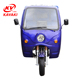 Advertising diesel/petrol engine can reverse five wheel motorcycle tricycle with tarpaulin