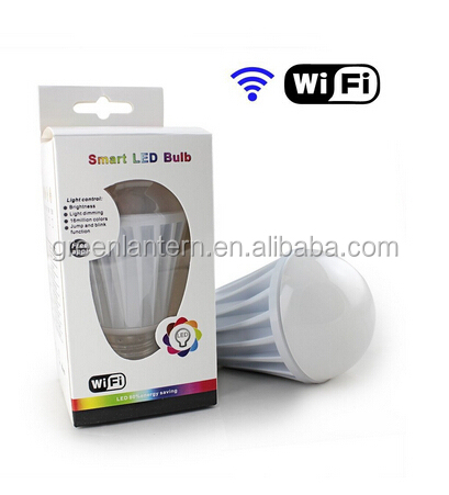 Smartphone Controlled Z-wave smart lighting/Z-wave smart lighting LED <strong>bulb</strong>