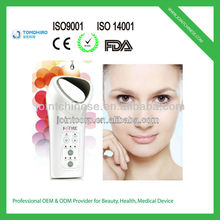 Multifunctional Red,Blue Led Light And Galvanic Microcurrent Beauty Machine