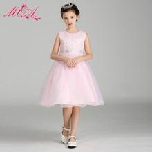 Wholesale Children Clothes Model Little Girl Dress New Style Elegant Kids Clothes LW0086