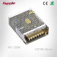 MS-120W 24V 5A 120W Mini size LED Switching Power Supply Transformer 110V 220V AC/DC with SGS,CE,ROHS,TUV,KC,CCC certification