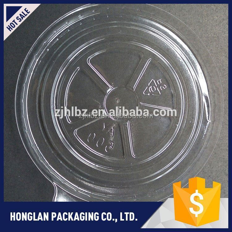 Best selling eco-friendly blister clear plastic cake box wholesale