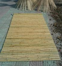 Raw Original Bamboo Edging Cover /Bamboo Fence For Garden Partition