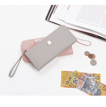 colorful fashion women gray shopping money purse