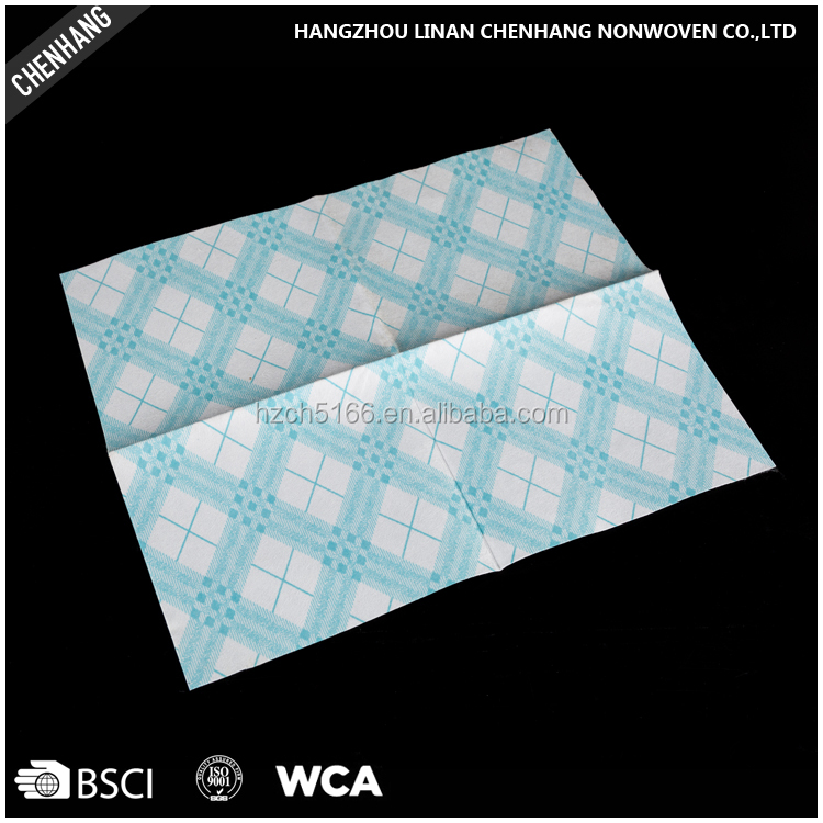 New Arrival Hydro-entangled Printed Superfine Fiber Cleaning Spunlace Nonwoven Cloth