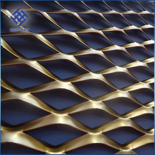Wholesale Powder Coated Expanded Metal Mesh Price/Decorative Expanded Metal/Expanded Metal Grill Grates