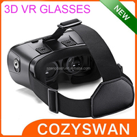 factory price 3D vr box Head Mount VR Glasses for 4.5inch to 6inch Smart Phone