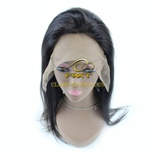 Wholesales high quality unprocessed virgin human peruvian hair lace front wig,braided human hair natural hair wig