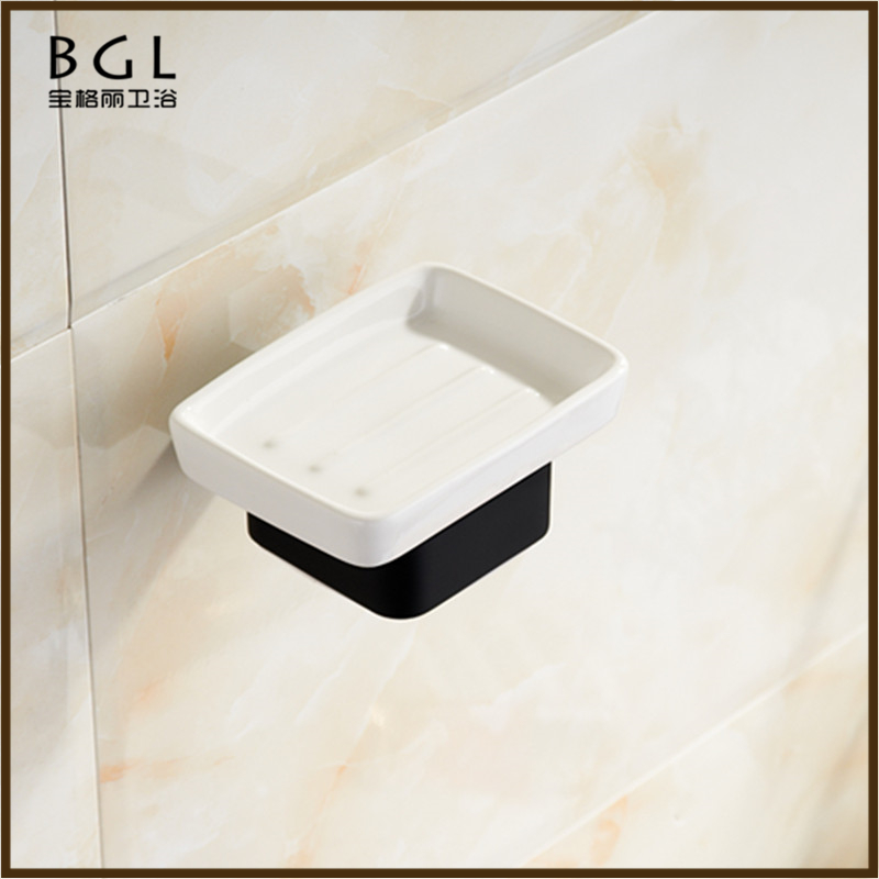 20839-rp luxury bathroom design zinc alloy rubber paint bathroom accessory soap holder