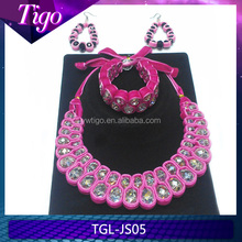 wholesale european beaded large necklace