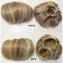 wholesale factory price cheap natural black synthetic fake <strong>hair</strong> bun <strong>Hair</strong> <strong>Accessories</strong>