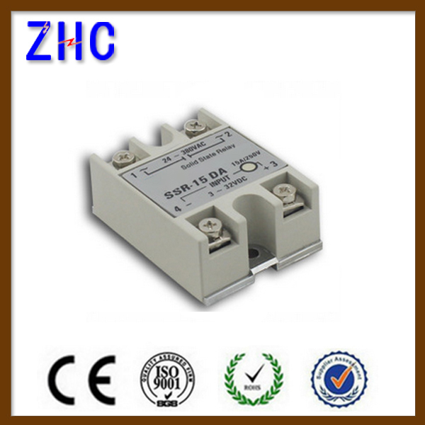 SSR-15DA single phase DC to AC mager solid state relay