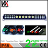 C ree 132W 12v led light bar waterproof remote searchlight mix led cheap price atv offroad marine auto car roof top light
