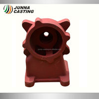hydraulic pump part gray cast iron casting pump housing