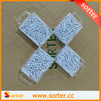 SORTER 28mm White color office stationery clips for files