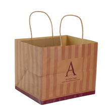 Eco friendly popular kraft gift stand up kraft paper <strong>bag</strong>