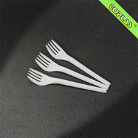 13cm Plastic Disposable Fork