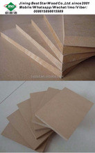 Raw MDF board in size of 1220x 2440 x 15mm