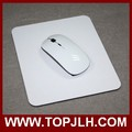 Blank white color computer mouse pad soft silicone mouse pad