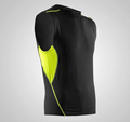 dri fit sports compression T shirt mens gym fitness tank top men shirt