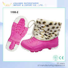 Fashion snow boot eva injection winter woman boot