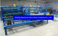 used chain link fence machine