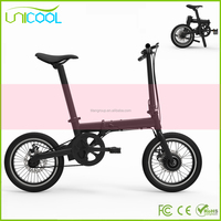 2017 New Style 16Inch 2 Wheels Electric Bicycle Mini Electric Scooter Folding 2 Wheels Electric Bike with CE Approved