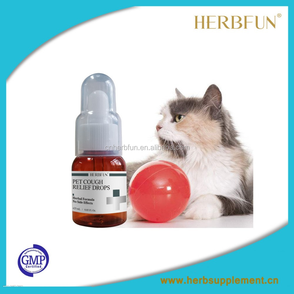GMP Veterinary medicine Kennel cough medicine for dog and cat Animal cough medicine