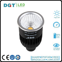 High CRI 220V 8W COB GU10 led spot light