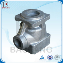 OEM grey iron GG25 hot resin sand casting cast iron foundry