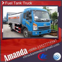 FAW 2 Axles 13940 Liters Fuel Tank Truck for sale