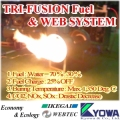 TRI-FUSION Fuel & WEB SYSTEM, Made in Japan boiler