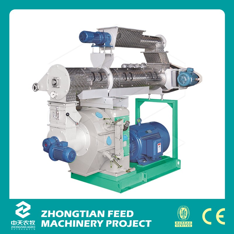 Best seller wood pellet press machine for wood/sawdust/rice husk/grass/wheat straw