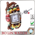 Girlsfashion leather watch made in China