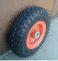 Pneumatic Tyre steel rim wheelbarrow rubber wheel 3.00-8
