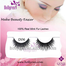 (#D06) Retail Real Mink Fur False Eyelashes