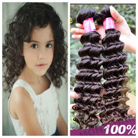 2015 New baby cute hairstyle hot selling full cuticle high quality virgin human hair 100% russian hair