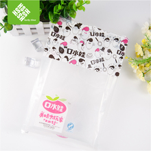 Food Grade Large Clear Plastic cosmetic bag for Pickles