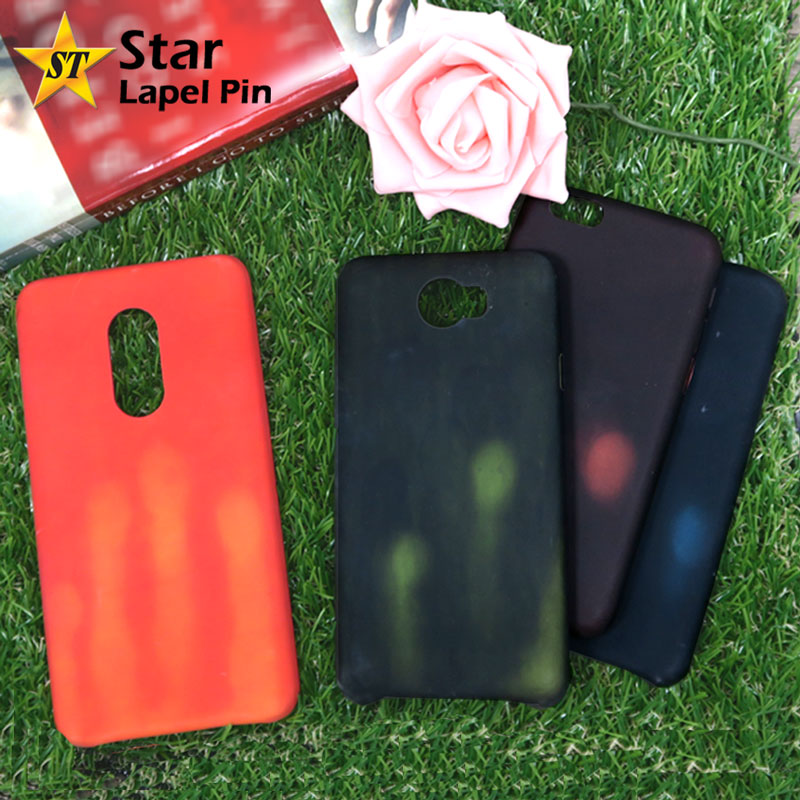 Physical Thermal Sensor Discoloration Color Change Matte Phone Case for iPhone