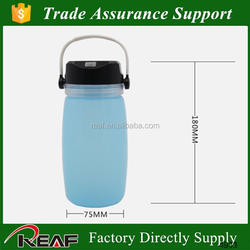 Fodable camping lamp silicone bottle shape adventuridge rechargeable led camping lantern