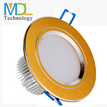 7W 5730 smd led, AC 90-265V, Recessed,, Aluminum, LED ceiling lamps for hotel