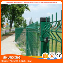 High Quality PVC Coated 3D Wire Mesh Fence Welded Garden Fence Panel