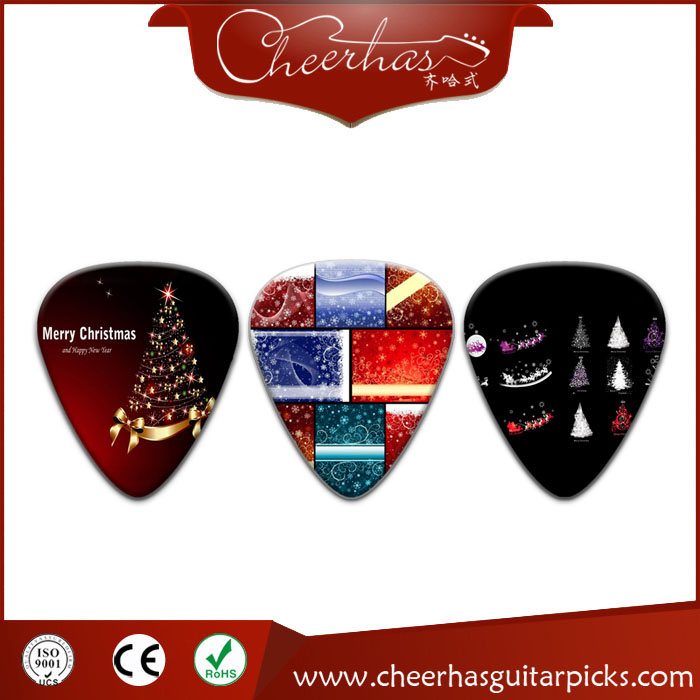 Christmas Personalize Guitar Plectrums Cheapest Custom Guitar picks electric hot picks