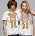 Amazing eyes charming fashion design couple t shirts