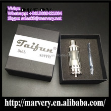 Factory sale cheap taifun bt rdta 8pcs 2mm AFC holes taifun gt 3 1:1 clone 5ml capacity