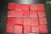 High Quality Seafood Sliced IQF Frozen Yellowfin Tuna Belly