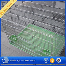 2016 qunkun china manufacturer mesh stainless steel bird cage wire mesh