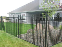 paint electrical iron fence dog kennel